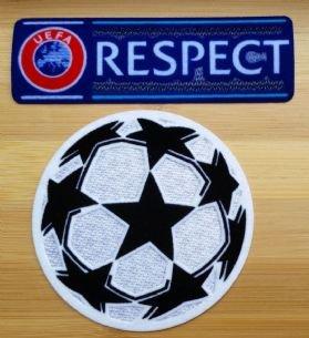 Uefa Champions League Star pelota y World Patch Set (2) Pins de ...