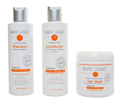 Rafe Lugo Damaged Hair Repair Treatment Kit, 3 ()