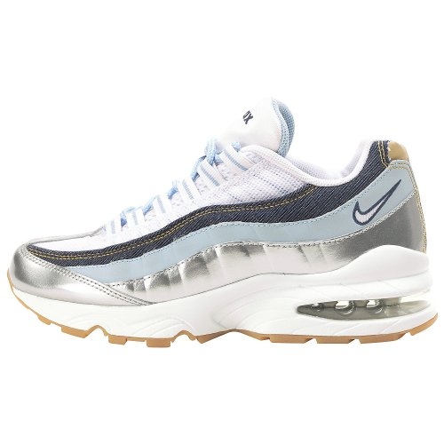 NIKE Grade-School Air Max 95 LE White/White-Ice Blue-Midnight Navy 310830-113 Shoe visit new for sale zHVp3oKw