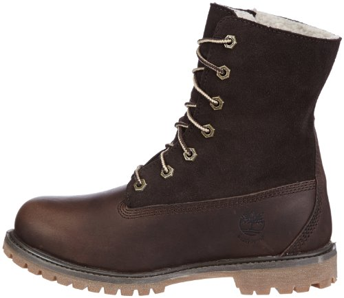 Authentic Teddy Women's Wp Fold Timberland Brown Waterproof Tedy tobacco Fleece Down Forty wg6xxTBq1