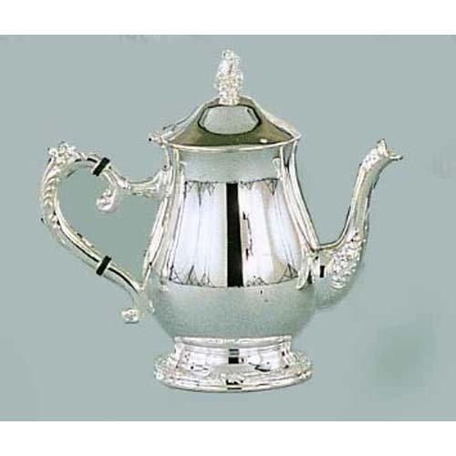 Elegance Silver 89808 Romantica Collection Silver Plated Tea Pot, 32 oz.