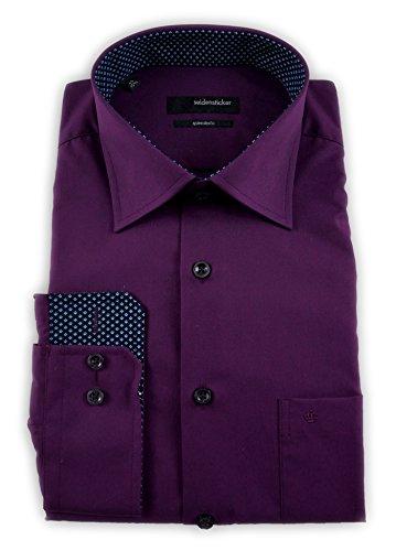 Seidensticker - Camisa formal - Básico - Clásico - para hombre Rojo