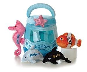 My Aquarium Mini-Plush Set: Aurora My Baby Talk Play Set by My Baby Talk Play Set