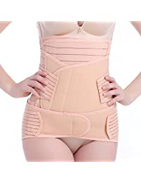 Hisret Postpartum Support Recover Girdle 3 in 1 Belly Waist Pelvis Trainer Control