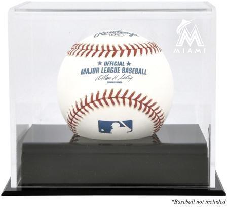 Florida Marlins Display Case (Miami Marlins Baseball Cube Logo Display Case)