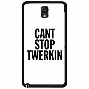 Can't Stop Twerkin TPU RUBBER SILICONE Phone Case Back Cover Samsung Galaxy Note III 3 N9002 Kimberly Kurzendoerfer
