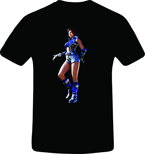 Asuka T-shirt (Tekken asuka kazama, Best Quality Costum Tshirt (3XL, BLACK))