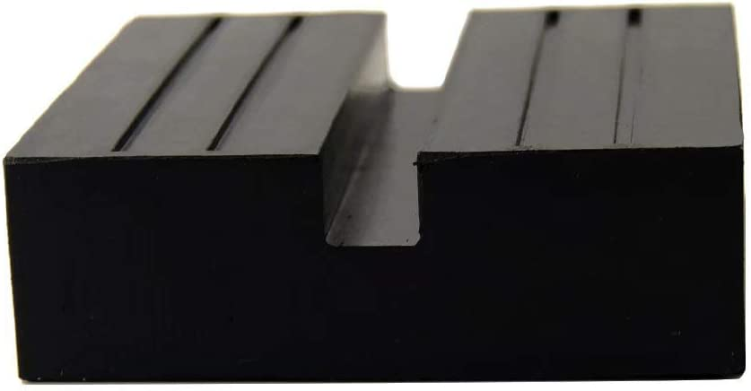 XuSha Heavy Duty Jack Rubber Pad Anti-Slip Rail Adapter Support Block for Car Lift 1pc