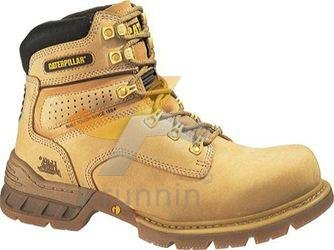 NEW CATERPILLAR FOUNDATION STEEL TOE CAPPED WORK BOOTS (TAN/HONEY ...