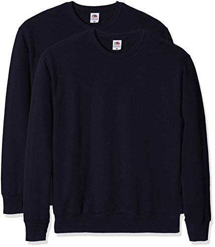 Navy The Of Da Felpa dark Uomo Paco Blu Sweat Fruit Loom Lightweight 2 BOTxUaq