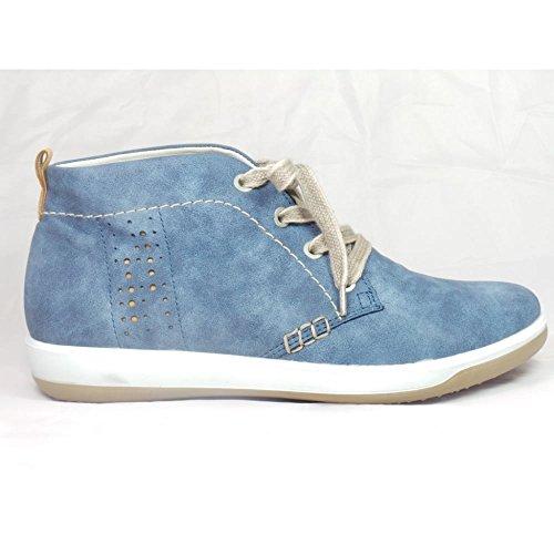 Jenny - Botas para mujer azul azul