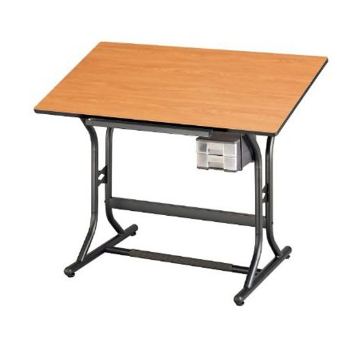 CraftMaster Wood Drafting Table by Alvin and Co.