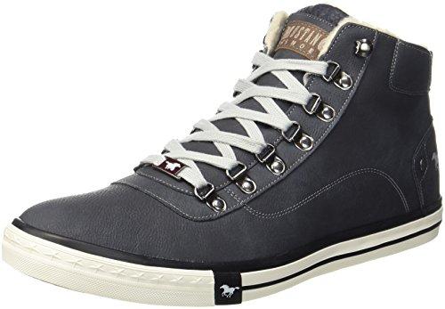 Hommes Mustang 4103-601-9 Noirs Haute Sneaker (noir)