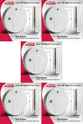 Kidde Smoke Detector Alarm | Battery Operated | Model # i9050 Pack of five