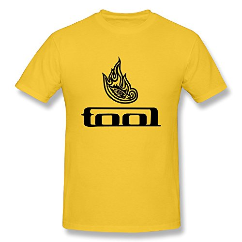 FHY Men's Tool Band T-shirts XX-Large ColorYellow