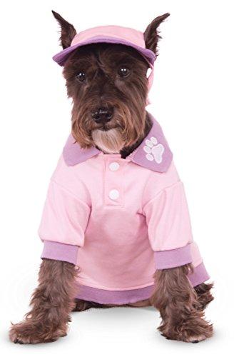 Pink Sport Cap for Pet, Small/Medium