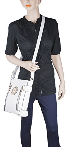Fashion Shoulder for Handbag Collection Crossbody Designer Woman MKF Bag White Bag Fanisa Handbag a8Yxvvw