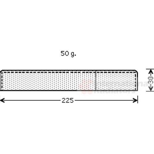 VAN WEZEL 9900D125 Essiccatore, Climatizzatore; Essiccatore, Climatizzatore VAN WEZEL GMBH
