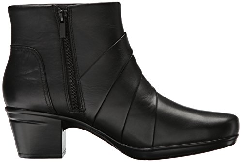 Emslie Ankle Boot Women's Moxie Clarks Black Leather tw5Bpqz