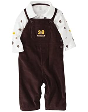 Just One You Made By Carter's Infant Boys 2pc Overall Set Football Allstar