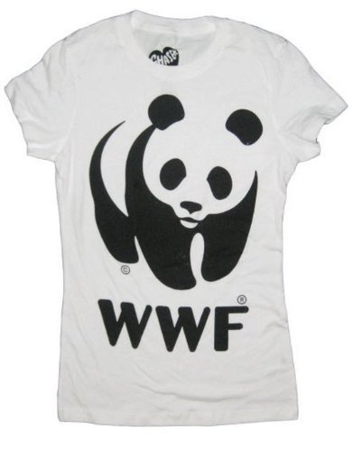 Wwf World Wildlife Fund Panda White T Shirt Tee