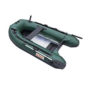 ALEKO btf250gr Pro barco de pesca Balsa 8.4 pies con suelo ...