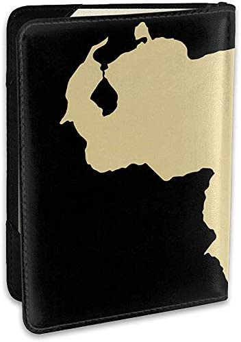 Venezuela Karte Gold personalisierte Mode Leder Passinhabers Covers Case Travel Wallet