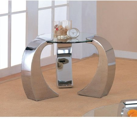 coaster-custer-720057-39-end-table-with-beveled-kidney-shaped-tempered-glass-top-and-chrome-plated-l