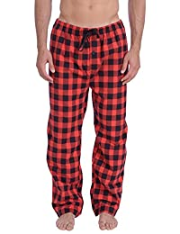 Wanted Men's Lightweight Cotton Flannel Pajama Lounge Pant
