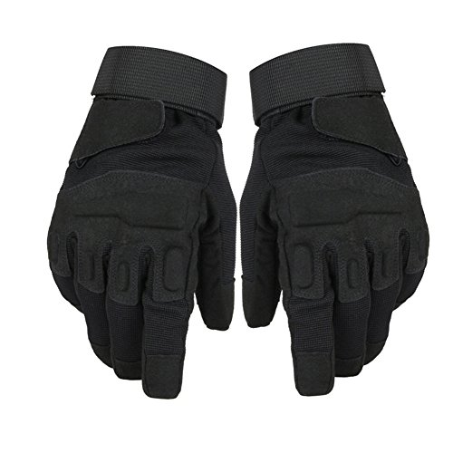 (Men's Outdoor Military Tactical Gloves Non Slip Durable Sports Gloves for Combat Motorcycling Hiking)