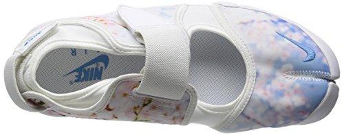 Nike Wmns Air Rift Print, Zapatillas de Deporte para Mujer Blanco (White / Black)