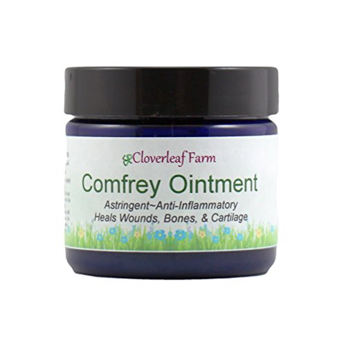 Comfrey Leaves - Cloverleaf Farm - Comfrey Herbal Ointment, 2 oz