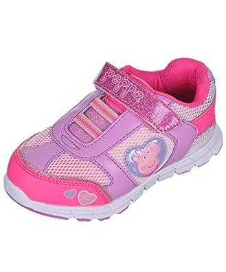 "Amazon.com   Peppa Pig Girls' ""Contrast Netting"" Sneakers"