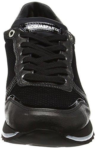 Bianca Sneakers D'Acquasparta Noir Femme Basses nfqXnxZS