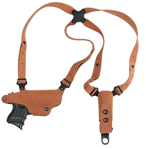 Galco CL652 Classic Lite Shoulder System for M&P Shield 9/40, 2.0 9/40, RH, Natural