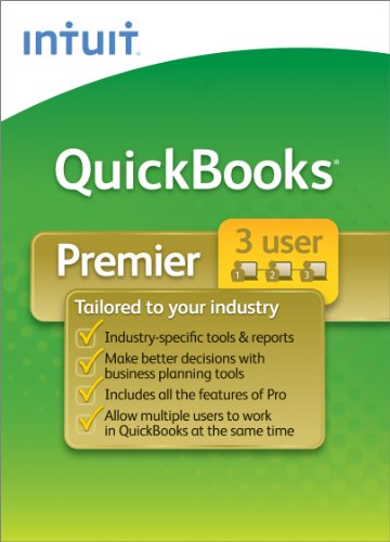QuickBooks Premier Industry Editions 3-User 2011 [Download] [OLD VERSION]