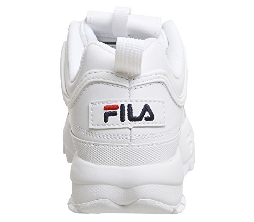 Fila Premium Navy White Sneaker Ii french Donna Red french Disruptor Bianco 1wp1rI