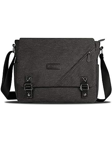 529d2303cc ibagbar Canvas Messenger Bag Shoulder Bag Laptop Bag Computer Bag Satchel  Bag Bookbag School Bag Working