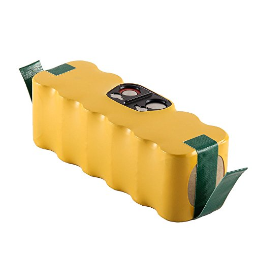 Masione 3500mah Replacement Vacumm Battery for iRobot Roomba 500, 600,700, 800 Series R3 500 510 530 531 532 533 535 536 540 545 550 552 560 562 570 580 581 585 (510 Exhaust)