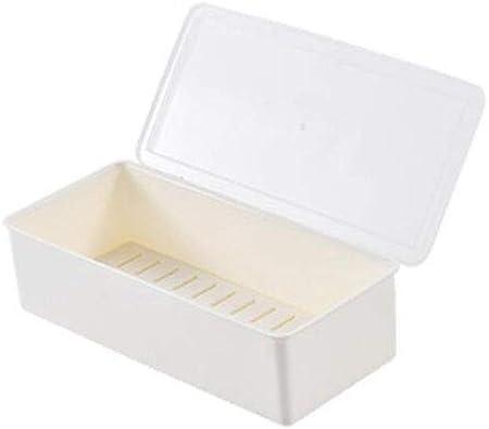 XOTF Cocina condimentos MSG Caja del cajón de plástico hogar condimento salero Frasco de condimento condimento Sistema de la Caja (Color : A): Amazon.es: Hogar