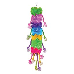 Prevue Pet Products BPV62665 Calypso Creations Bird Toy, Caterpillar
