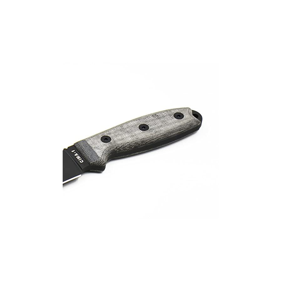 CIMA High hardness Full Tang outdoor survival fixed blade hunting knife