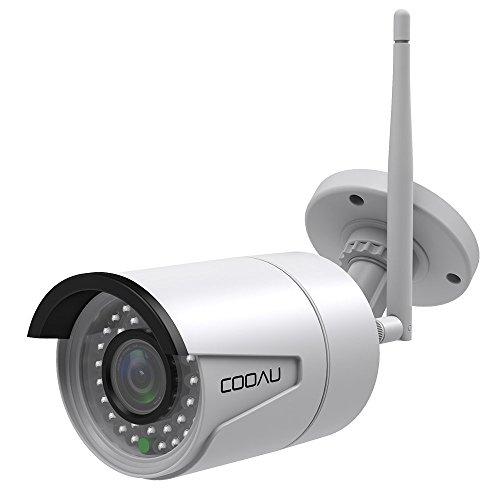 COOAU Outdoor IP Camera Wifi Wireless Security...