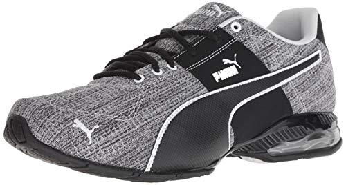 PUMA Men's Cell Surin 2 FM Sneaker, Black White, 10 M US
