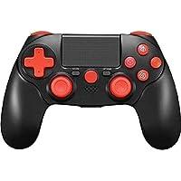 TPFOON Mando Inalámbrico para PS4, Controlador Bluetooth para Playstation 4 / Slim/Pro/PC, Wireless Gamepad Joystick de…