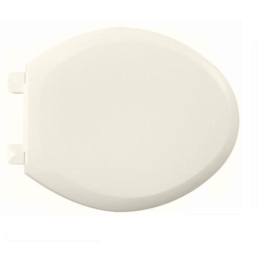 American Standard 5321.110.222 EverClean Elongated Toilet Seat with Slow Close Snap-Off Hinges, Linen