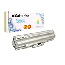 UBatteries Laptop Battery Sony VAIO VPCF2390S - 9 Cell, 6600mAh (Silver)