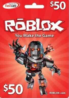 Amazon.com: Roblox - ROBLOX $50 Game Card: Video Games