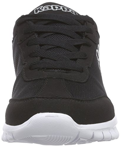 Kappa Rocket, Sneaker Unisex Adulto Nero (Black/White 1110)