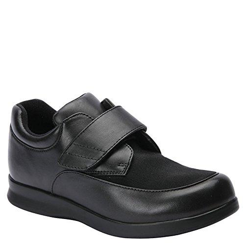 Drew Shoe Men's Journey II Casual Sneakers, Black Synthetic, 8 (Drew Mens Athletic Shoe)